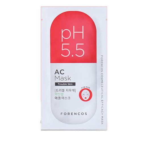 Forencos pH5.5 高效AC面膜 23g X 5pcs