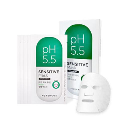 Forencos pH5.5 高效敏感肌膚面膜 23g X 5pcs