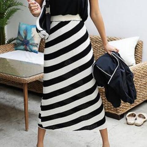 針織長裙 (1 color)
