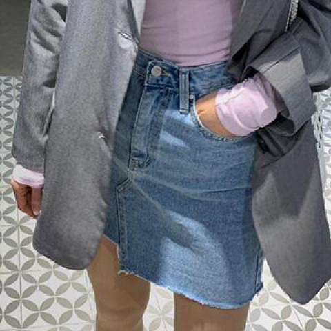 againby 短裙