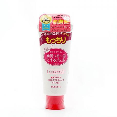ROSETTE 臉部去角質凝膠加強保濕(紅色) 120g