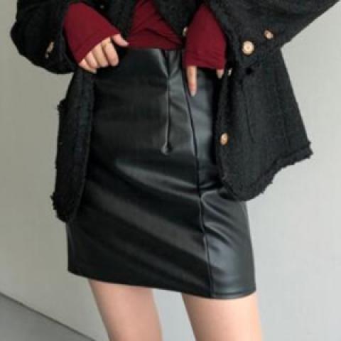 more-cherry 短裙