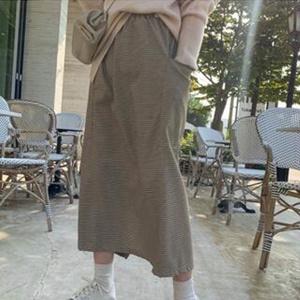 naning9 連身裙/裙子