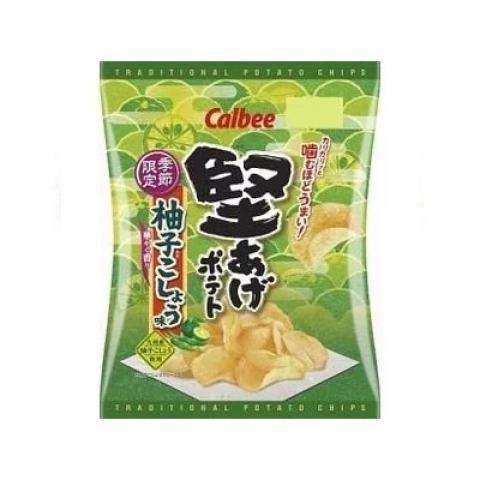 【新商品】堅あげポテト柚子こしょう味 60g