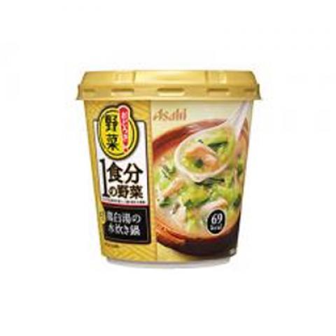 【新商品】おどろき野菜1食分鶏白湯水 炊鍋金ごま