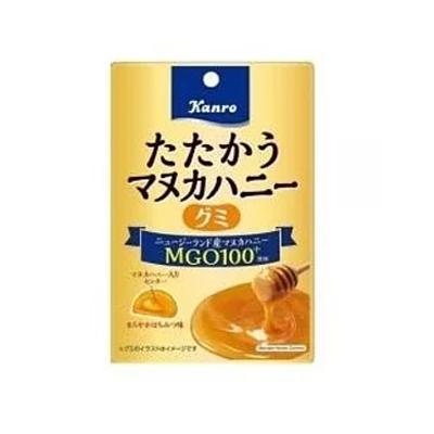 【新商品】たたかうマヌカハニーグミ4 0g