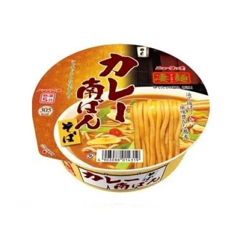 【新商品】ニュータッチ凄麺カレー南ば んそば