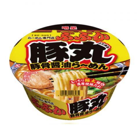 【新商品】ぶぶか豚丸豚骨醤油らーめん