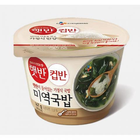 CJ 海苔湯飯 (167g)