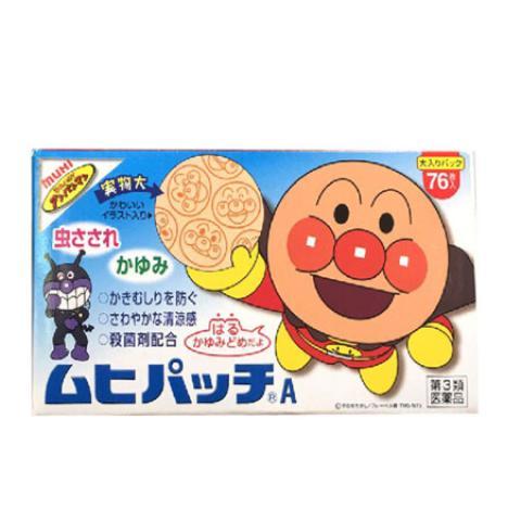 池田 麵包超人止痕蚊貼76枚/盒