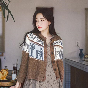 milkcocoa 開襟衛衣#BRC2058