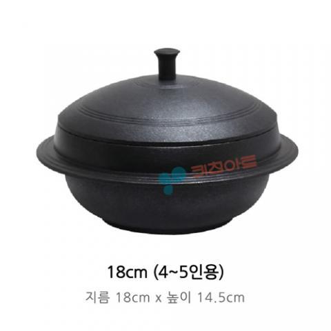 Kitchen-Art 麥飯石不粘石鍋 - 18cm, 明火/電磁