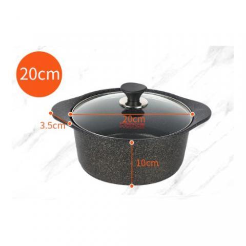 Kitchen-Art 麥飯石湯鍋 - 20cm