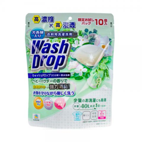 DoDoME 爽身粉味超濃縮3D洗衣球 10枚