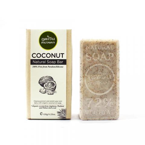 Phutawan 有機椰子香皂 120g/4.23oz