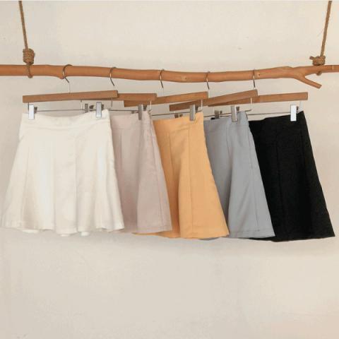 100jang 短裙