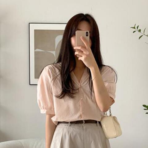 韓國新品﹗開襟襯衫