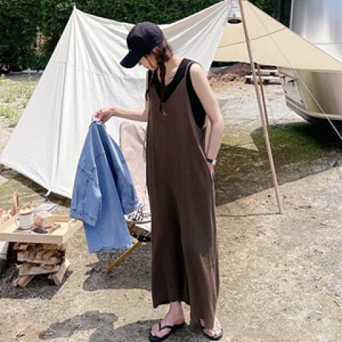 韓國新品﹗簡約吊帶連身衣