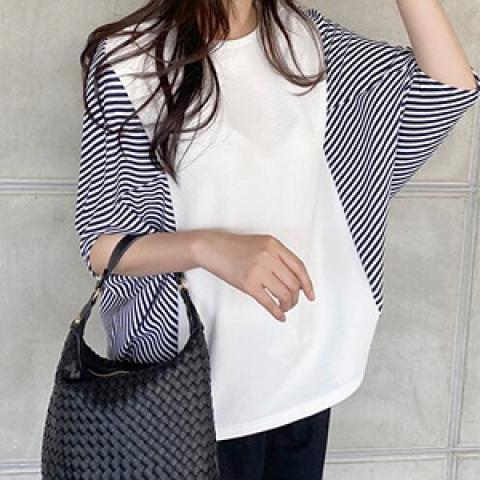 韓國新品﹗蝙蝠袖 寬身衫