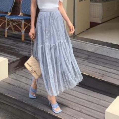 韓國新品﹗薄紗裙子