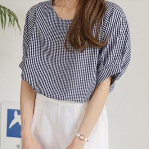 韓國新品﹗格仔襯衫