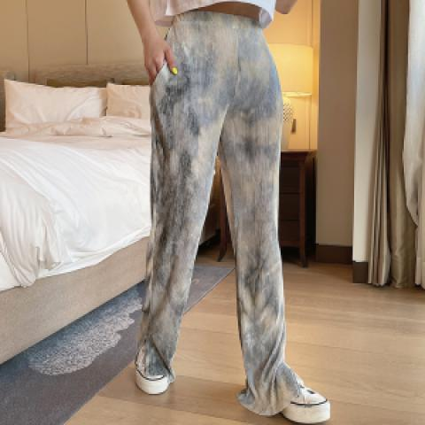 choper 褲 (size : M-L) 長度可自行修剪 (sold)