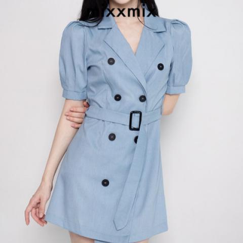 mixxmix 連身裙 (Size : S)
